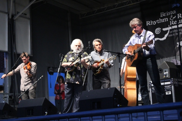 "David ""Dawg"" Grisman at the 2014 Bristol Rhythm and Roots Reunion"